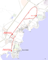 Course map of the CAC cycling 2013 in Sharm el Sheikh.png