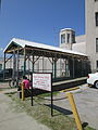 Courthouse Tulane Broad NOLA 13 Sept 2013 Permt parking Barbed Wire Entrance.JPG