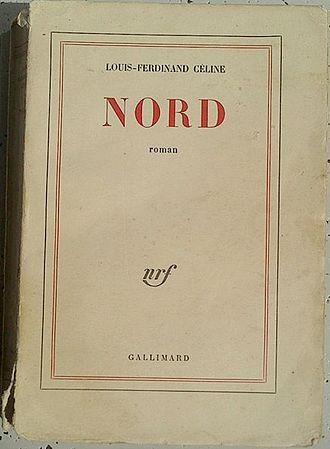 North (novel) - Image: Couverture Nord Céline édition originale