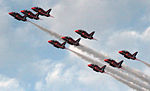 Cowes Week 2013 Red Arrows display 5.jpg