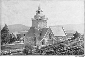 Crathie Kirk - The kirk in 1895