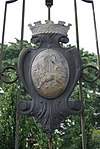 Crest of the Singapore Municipal Commission on the gate of the former Bidadari Cemetery, Bidadari Garden, Singapore - 20121008.jpg