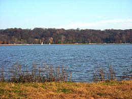 Creve Coeur Lake in the park