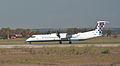 Croatia Airlines Bombardier Dash 8-Q400 9A-CQA Fiumicino Airport.jpg