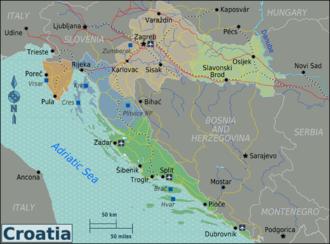 Istrien Karte Zum Ausdrucken.Kroatien Reisefuhrer Auf Wikivoyage
