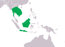 Crocodylus siamensis Distribution.png