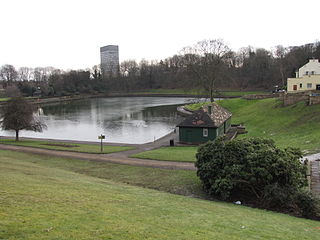 Crookes Valley Park park in the United Kingdom