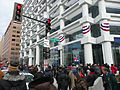 Crowd at corner of Pennsylvania Ave Inauguration 2013.jpg