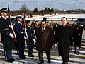 Crown Prince Shaikh Salman bin Hamad Al-Khalifa of Bahrain escorted by William Cohen, 2000.jpg
