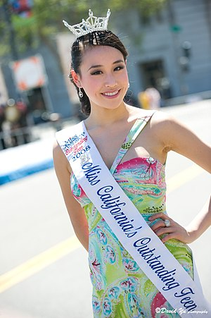 Miss America's Outstanding Teen state pageants -  Crystal Lee, Miss California's Outstanding Teen 2008
