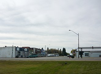 Cudworth, Saskatchewan - Main Street