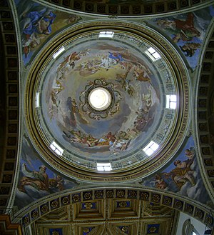 English: The dome of the cathedral of Citta di...