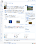 Current Japanese Wikipedia main page.png