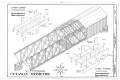 Cutaway Isometric, Upper Chord (Compression Joint), Lower Chord (Tension Splice) - McConnell's Mill Bridge, Spanning Slippery Rock Creek at McConnell's Mill Road HAER PA,37-ELLCI.V,1- (sheet 5 of 6).png
