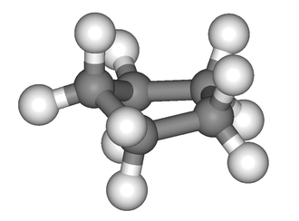 "Cyclopentane - The typical structure of cyclopentane is the ""envelope"" conformation."