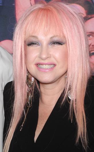 Cyndi Lauper - Lauper during the premiere of Kinky Boots in Sydney, 2017