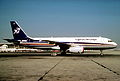 Cyprus Airways Airbus A320-231; F-WWDX, March 1989 (6161830405).jpg