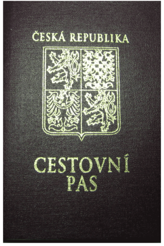 Czech Passport Public domain - According to the Czech Copyright Act, this work is in the public domain
