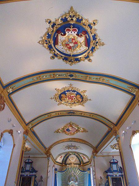 Décor en stuc de l'église Saint-Pierre de Hody réalisé en 1766. Classé patrimoine exceptionnel de Wallonie depuis le 27 mai 2009.