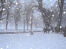Ola de nieve en santa fe
