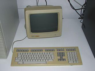 VT220 - DEC VT220 terminal with LK201 keyboard.