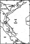 DESOTO patrol mission map off Vietnam 1964.png