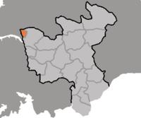Vị trí tại tỉnh Hwanghae Bắc