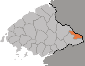 Hyangsan County - Image: DPRK Pyongbuk Hyangsan