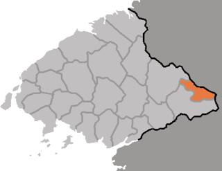 Hyangsan County County in North Pyŏngan, North Korea