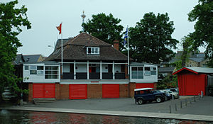 Lady Margaret Boat Club - Image: DSC 0619 lmbc boathouse