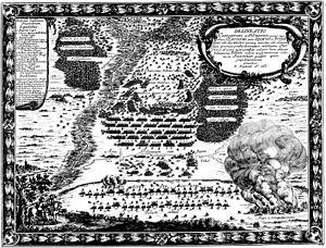 1655 in Sweden - Dahlbergh Bitwa Żarnowiec
