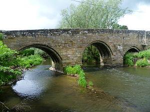 Dairsie Bridge - Dairsie Bridge, viewed from downstream