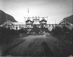 Dalen, Telemark - Dalen Hotel opened in 1894