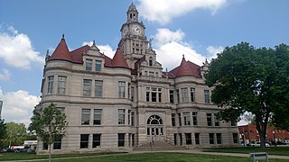 Dallas County Courthouse (Iowa) United States historic place