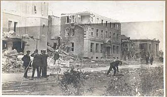 Regina, Saskatchewan - On June 1912, a tornado locally referred to as the Regina Cyclone devastated the city. The tornado remains the deadliest recorded tornado in Canada.