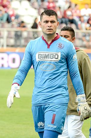 Danny Carvajal - Carvajal representing Saprissa in 2016