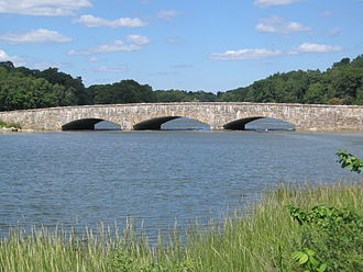 Fairfield County, Connecticut - Rings End Bridge, in Darien