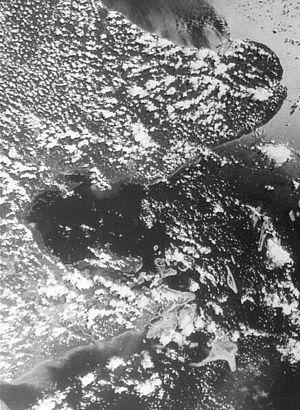 Darvel Bay - Satellite image of Darvel Bay, 27 July 1980