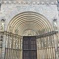 Das Fürstenportal wird nur bei großen Prozessionen geöffnet. Es zeigt das Jüngste Gericht mit Christus als Weltenrichter. - panoramio.jpg
