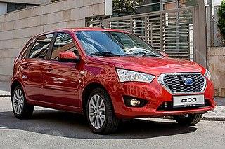 Datsun mi-Do Russia-exclusive Nissan subcompact hatchback