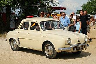 Vilvoorde Renault Factory - The first postwar design to be assembled at Vilvoorde was the Renault Dauphine.