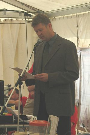 David Cunliffe closing the 2005 Auckland BioBlitz