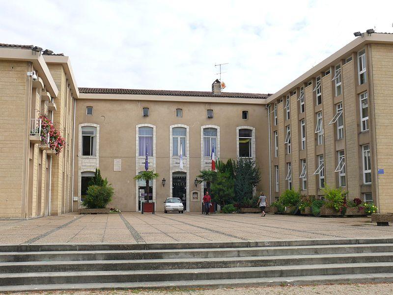 The townhall of Dax (Landes, Pyrénées-Atlantiques, France).