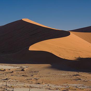 Dunes around Dead Vlei, Namibia