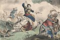 Death of Tecumseh- Battle of the Thames Oct. 18- 1813 - lith. & pub. by N. Currier. LCCN91794824.jpg