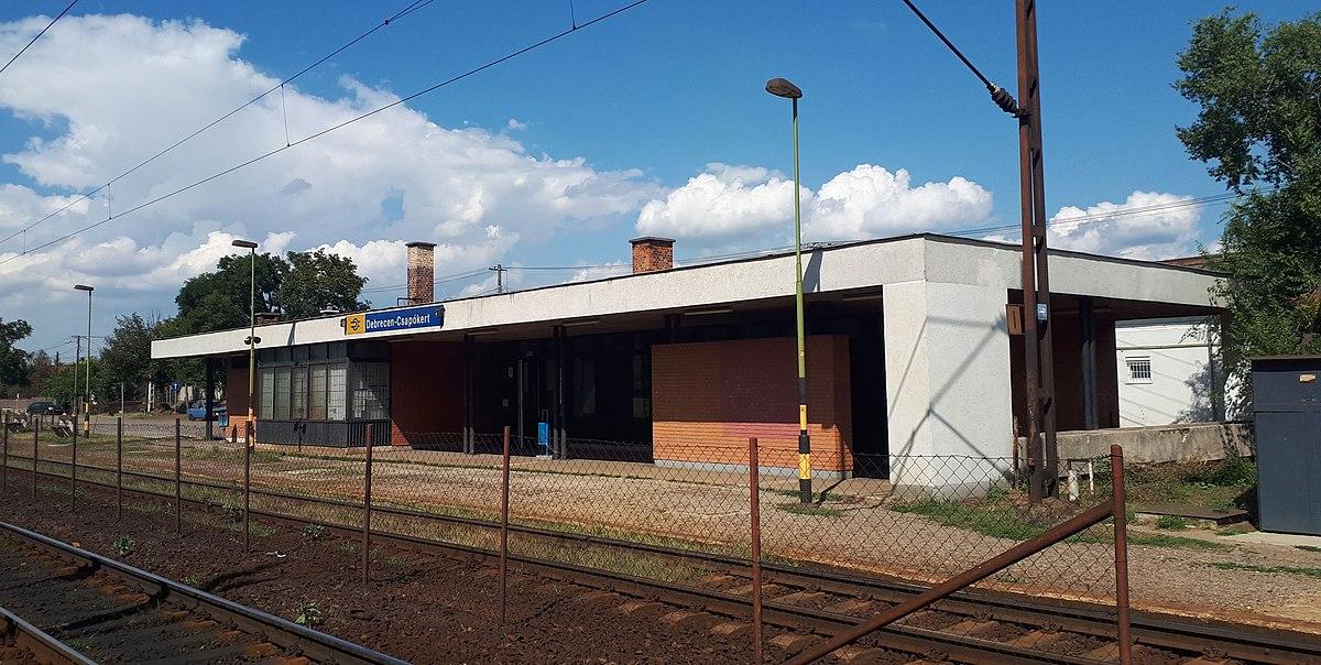 csapókert debrecen térkép Debrecen Csapókert megállóhely – Wikipédia csapókert debrecen térkép