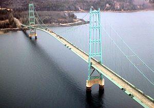 Deer Isle Bridge - Image: Deer Island Bridge