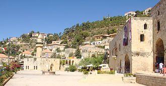 Deir al-Qamar - The square