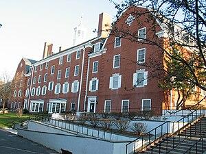 Demarest Hall - Demarest Hall rear