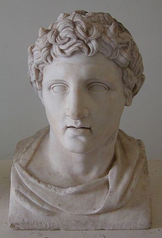 Demetrius I of Macedon - Marble bust of Demetrius I Poliorcetes. Roman copy from 1st century AD of a Greek original from 3rd century BC